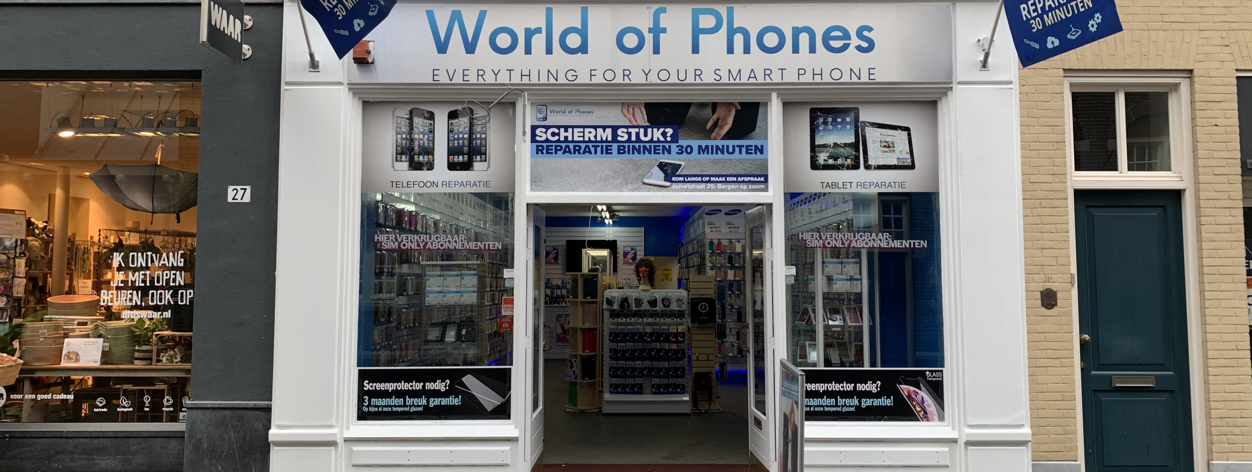 Telefoon reparatie winkel Bergen op Zoom